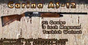 Carina Hunting Shotguns