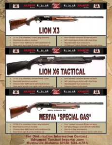 lion_X3_hunting_shotgun_Lion_X6_home_defense_Meriva_hunting_shotgun_Advanced_tactical_imports_256-534-4788