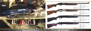 Carina automatic hunting shotguns AdvancedTacticalImports